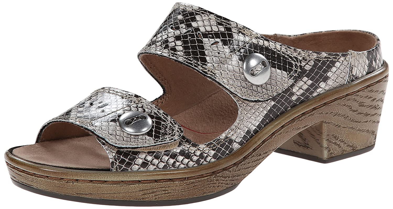 Klogs USA Women's Journey Dress Sandal B00MY8708G 8 B(M) US|Natural Snake