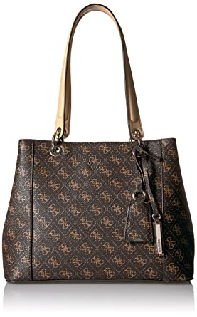 7f031574f GUESS Kamryn Logo Shopper: Handbags: Amazon.com