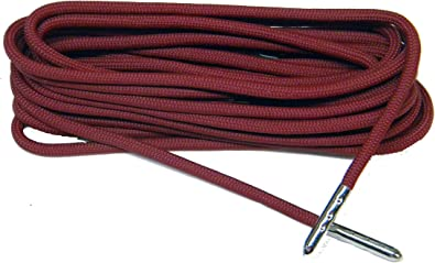 Amazon Com 40 Inch Burgundy Wine 550 Paracord Silver Steel Tip Shoelaces Boot Laces Strongest Laces Available 2 Pair Pack Shoes