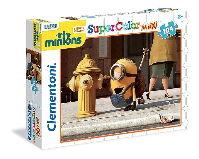7 opinioni per Clementoni 23685- Minions Maxi Puzzle, 104 Pezzi