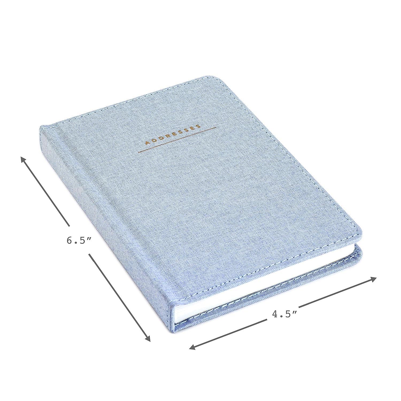Amazon.com: Libro de direcciones Hallmark con tapa dura ...