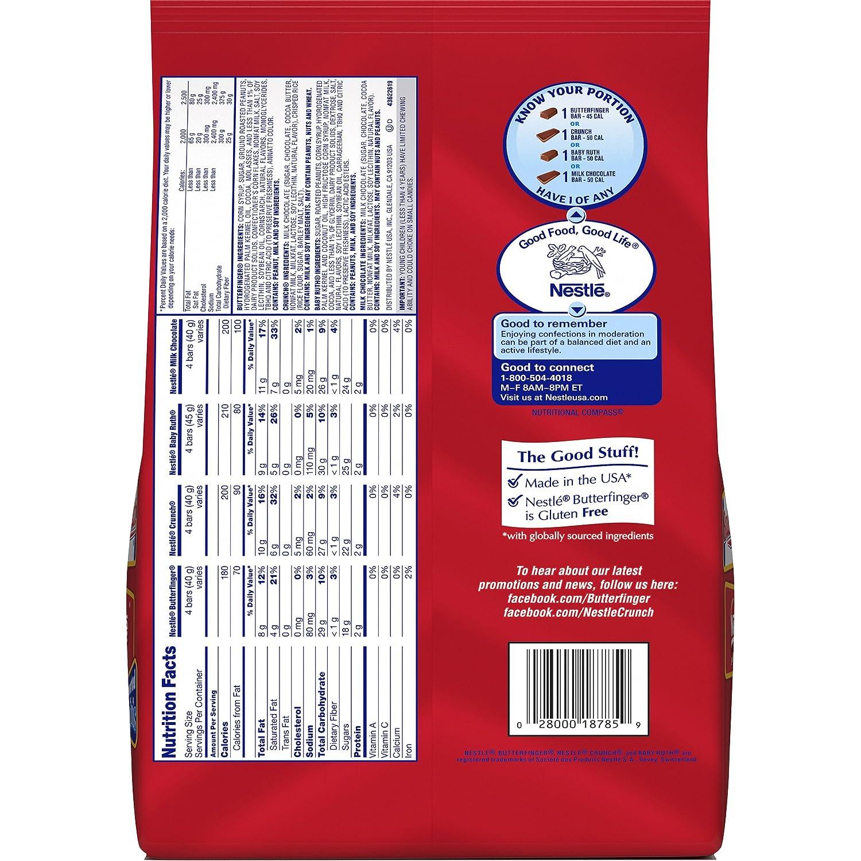 Amazon.com : Nestle Chocolate Assorted Minis Bag, 40-Ounce ...