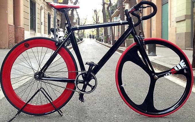 mowheel Bicicleta Fixie-Acrue Pista 3 Black. Monomarcha Fixie/Single Speed.: Amazon.es: Deportes y aire libre