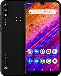 "BLU Vivo XL5-6.3"" HD Display Smartphone, 64GB+ 3GB RAM- Black"