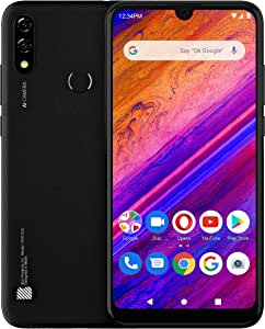 "BLU Vivo XL5-6.3"" HD Display Smartphone, 64GB+ 3GB RAM- International Unlocked- Black"