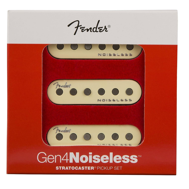Set of 3 Fender Generation 4 Noiseless Stratocaster Single-Coil Pickups