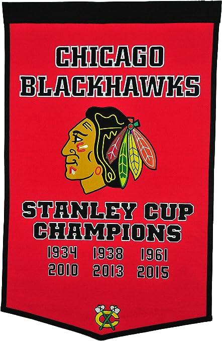 Winning Streak Chicago Blackhawks 2010 Stanley Cup Champions Commemorative Banner