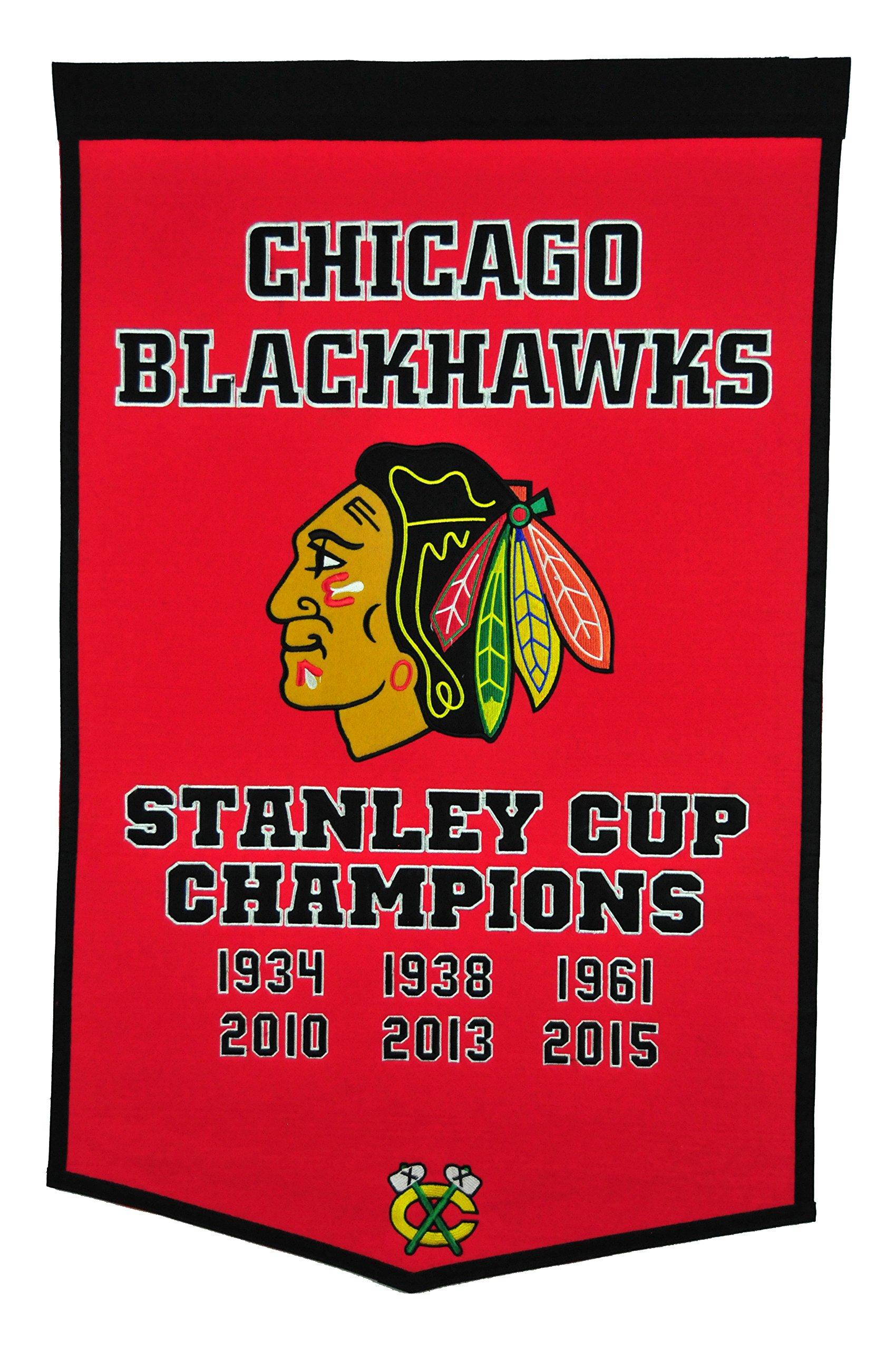 Winning Streak NHL Chicago Blackhawks Dynasty Banner by Winning Streak
