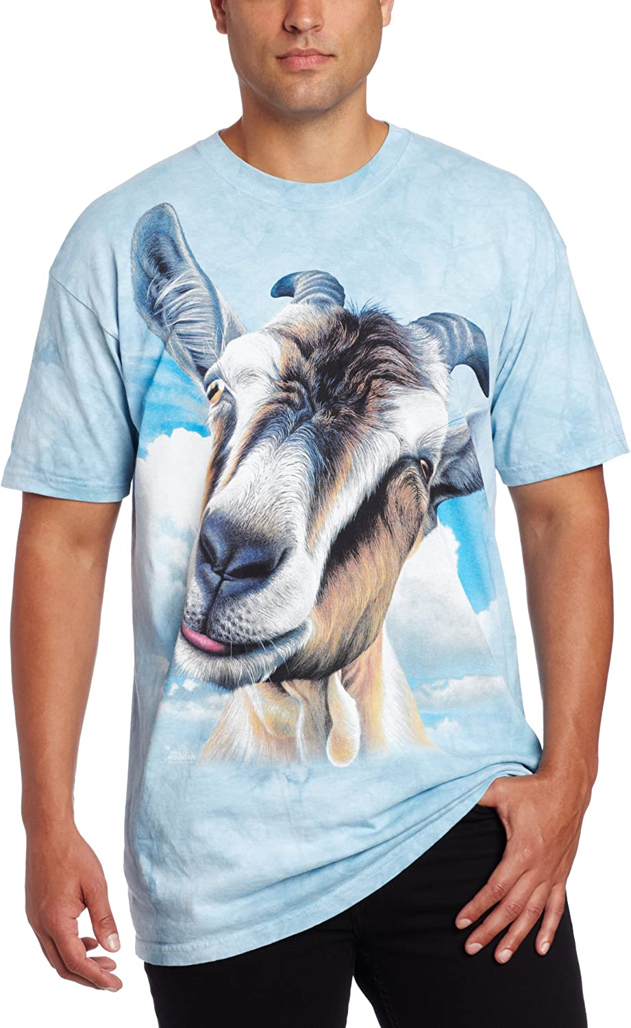 The Mountain Men's Goat Head Short Sleeve T-Shirt