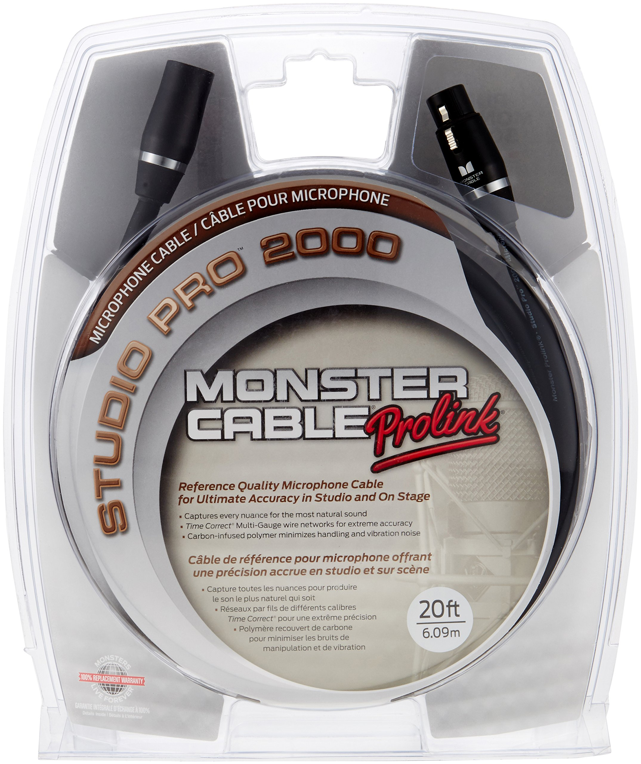 Monster Studio Pro 2000 Microphone Cable - 20'