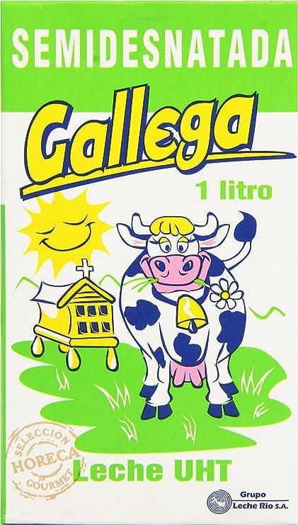 Gallega Leche UHT Semidesnatada - 1 l