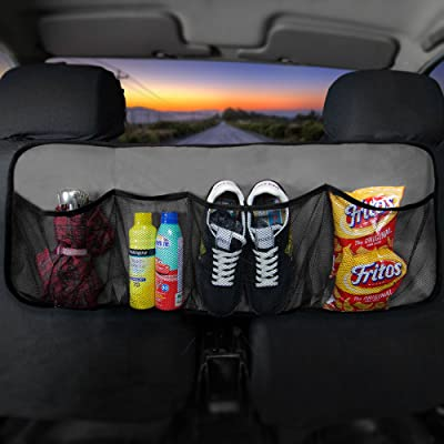 FH Group FH1122GRAY Car Trunk Organizer (Multi-Pocket Storage Collapsible for Easy Carry Perfect for Garage or Grocery Store), 1 Pack: Automotive