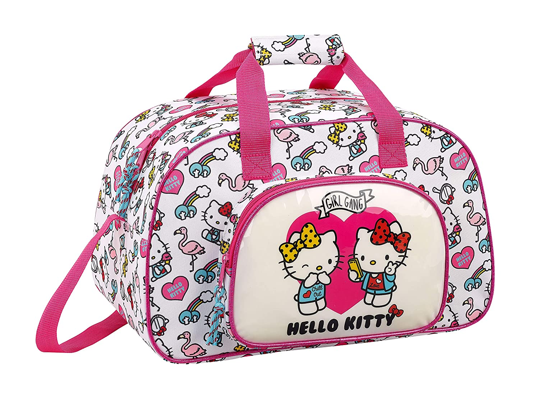 Rose Hello Kitty 2018 Sac de Sport Enfant Rosa 40 cm 22 liters