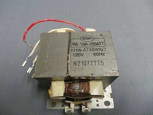 Sharp rtrn-a748wrzz microondas transformador: Amazon.es ...