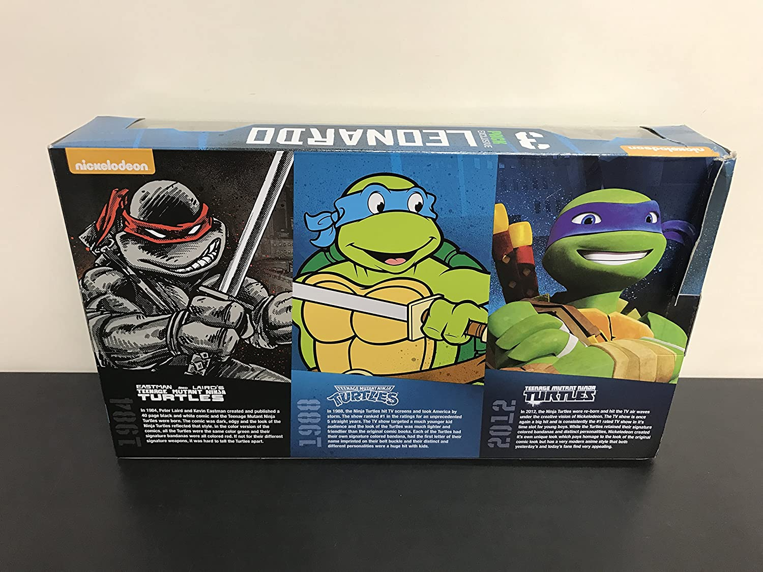 Amazon.com: Teenage Mutant Ninja Turtles 3 Pack Exclusivo ...