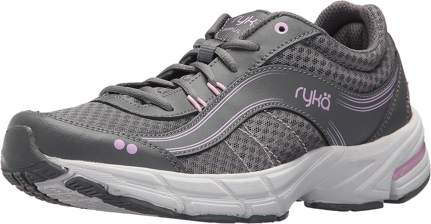 RYKA Women's Impulse Walking Shoe, Grey