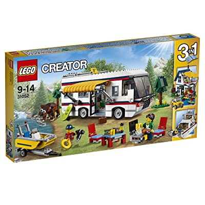 (European Version) LEGO Creator Camper 31052: Toys & Games