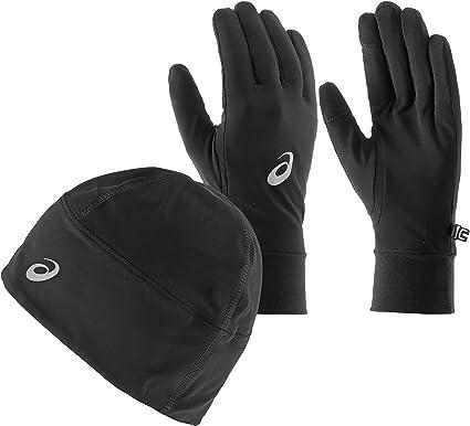 ASICS Performance Pack Winter Beanie Plus Handschuhe