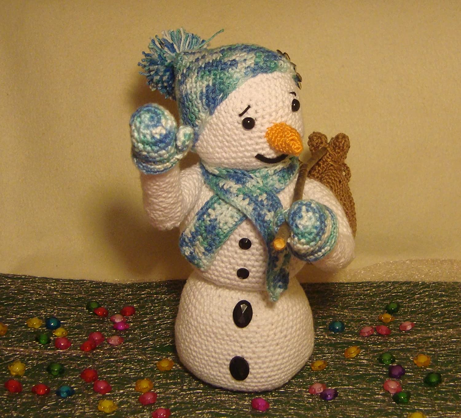 Puschis Crochet Pattern Set Seasons ThePatternFactory