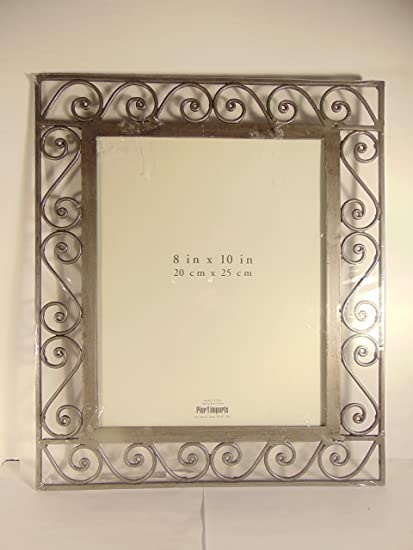Amazon Pier 1 Imports 8 X 10 Pewter Decorative Picture Frame