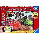 Ravensburger Spieleverlag 13662 - Cars in Aktion - 100 Teile XXL, QR Code für die Gratis-App