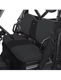 Classic Accessories 18-026-010401-00 QuadGear UTV Seat Cover for Polaris Ranger XP/HD (Bench), Black