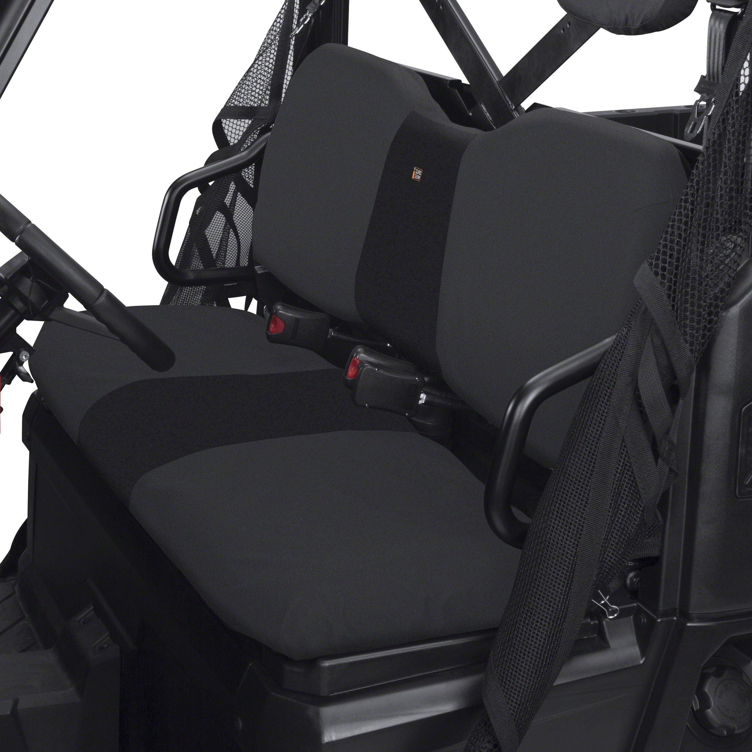 Classic Accessories 18-026-010401-00 QuadGear Black UTV Seat Cover by Classic Accessories