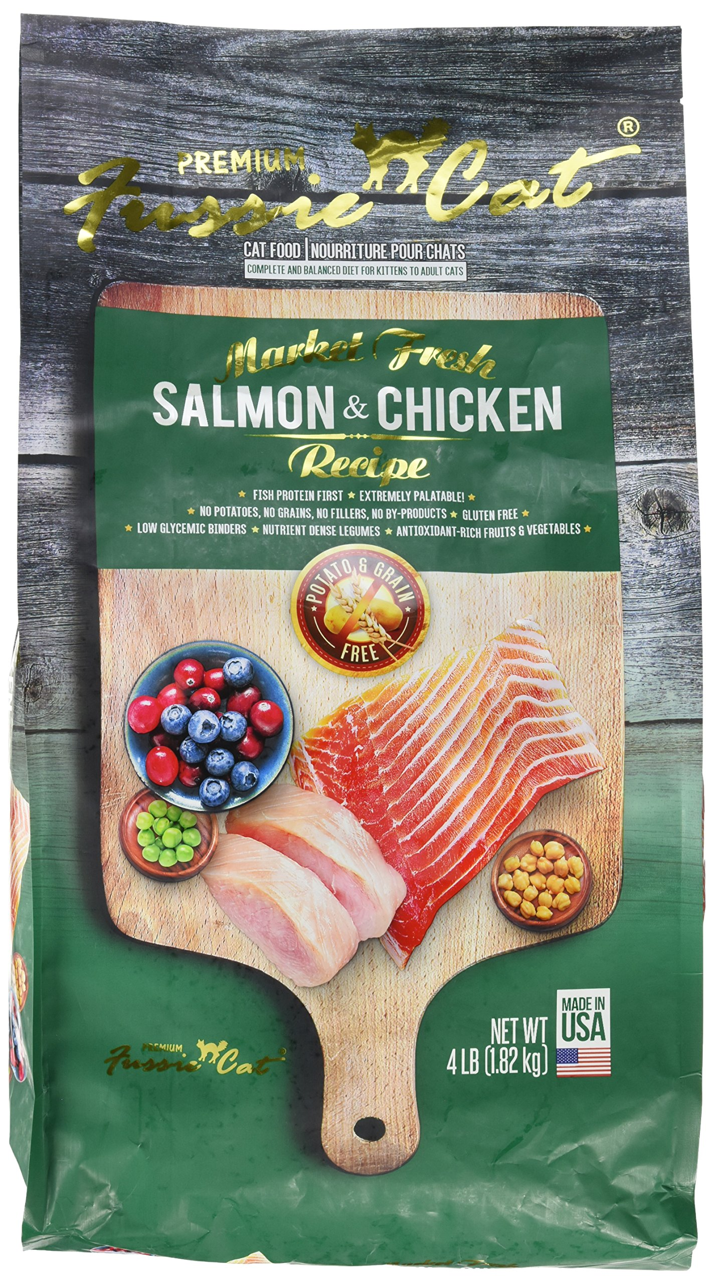 Fussie Cat Market Fresh Salmon & Chicken Recipe, 4 lb