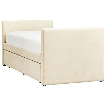 Amazon.com: Rivet Meredith - Estructura de cama doble sin ...