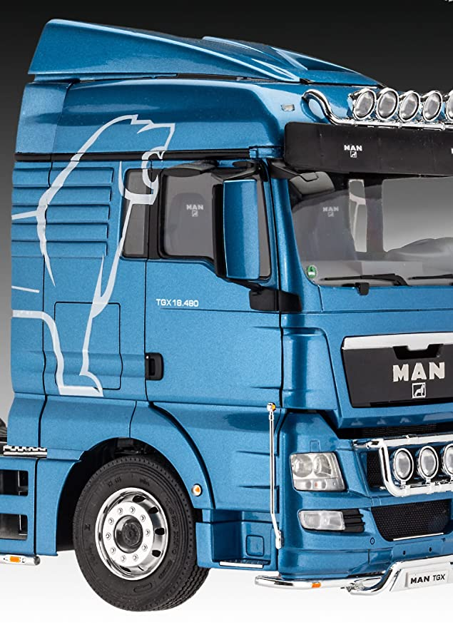 Amazon.com: Revell Man TGX XLX Model Kit, 1:24 Scale, 24.8 ...