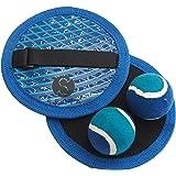 Secia Catch Pad / Catch Ball set - classic beach and garden game (Blue)