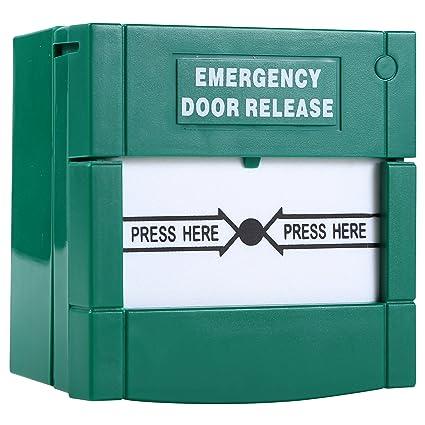 Uhppote Resettable Break Break Glass Fire Emergency Exit Release