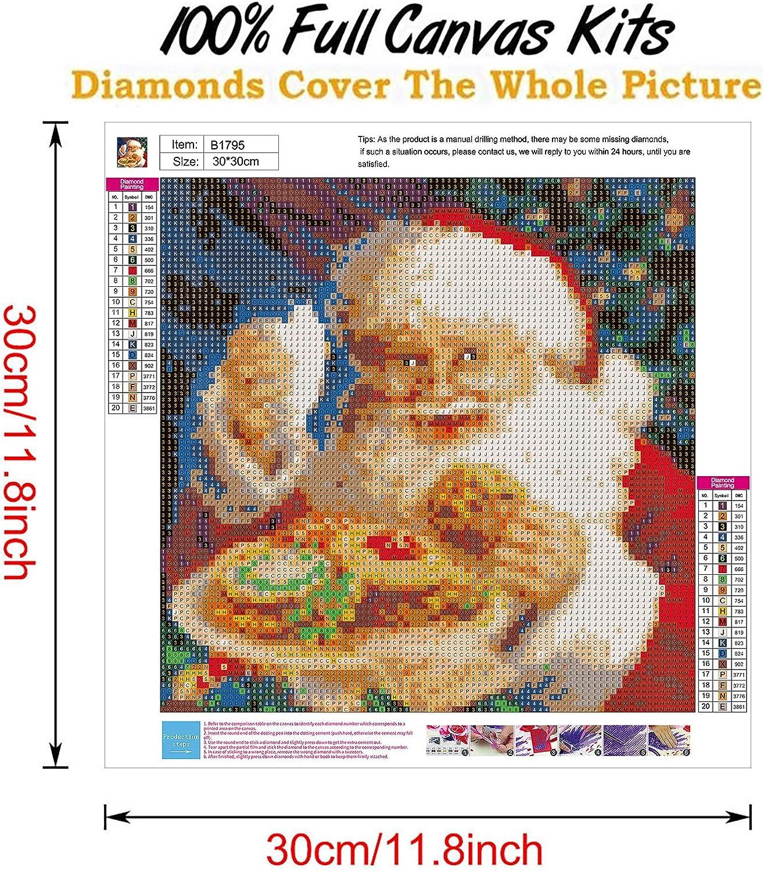 300\u00d7300 mm GIFT DIY Bead Embroidery Kit on art canvas Christmas Angel Size