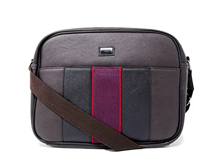 44db21611 Image Unavailable. Image not available for. Colour  Chocolate Messenger Bag  Ted Baker