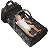 Laluka Travel Bassinets for Babies - Portable Bassinet Baby | Diaper Bag Backpack Baby Bag Crib Combo | Insulated Bottle…