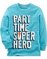 Carter's Baby Boys' Long Sleeve Part Time Super Hero Tee