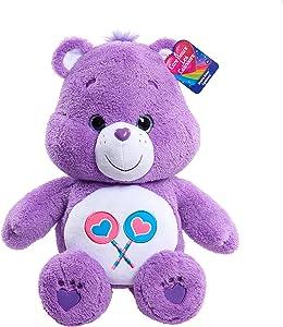 "Care Bears 15"" Jumbo Plush - Share, Purple"