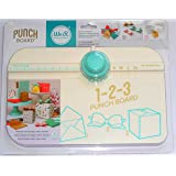 American Crafts We R Memory Keepers 123 Punch Board