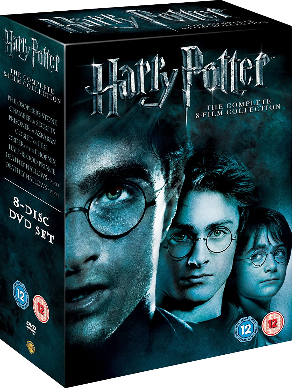 Image result for harry potter dvd box set 1-8