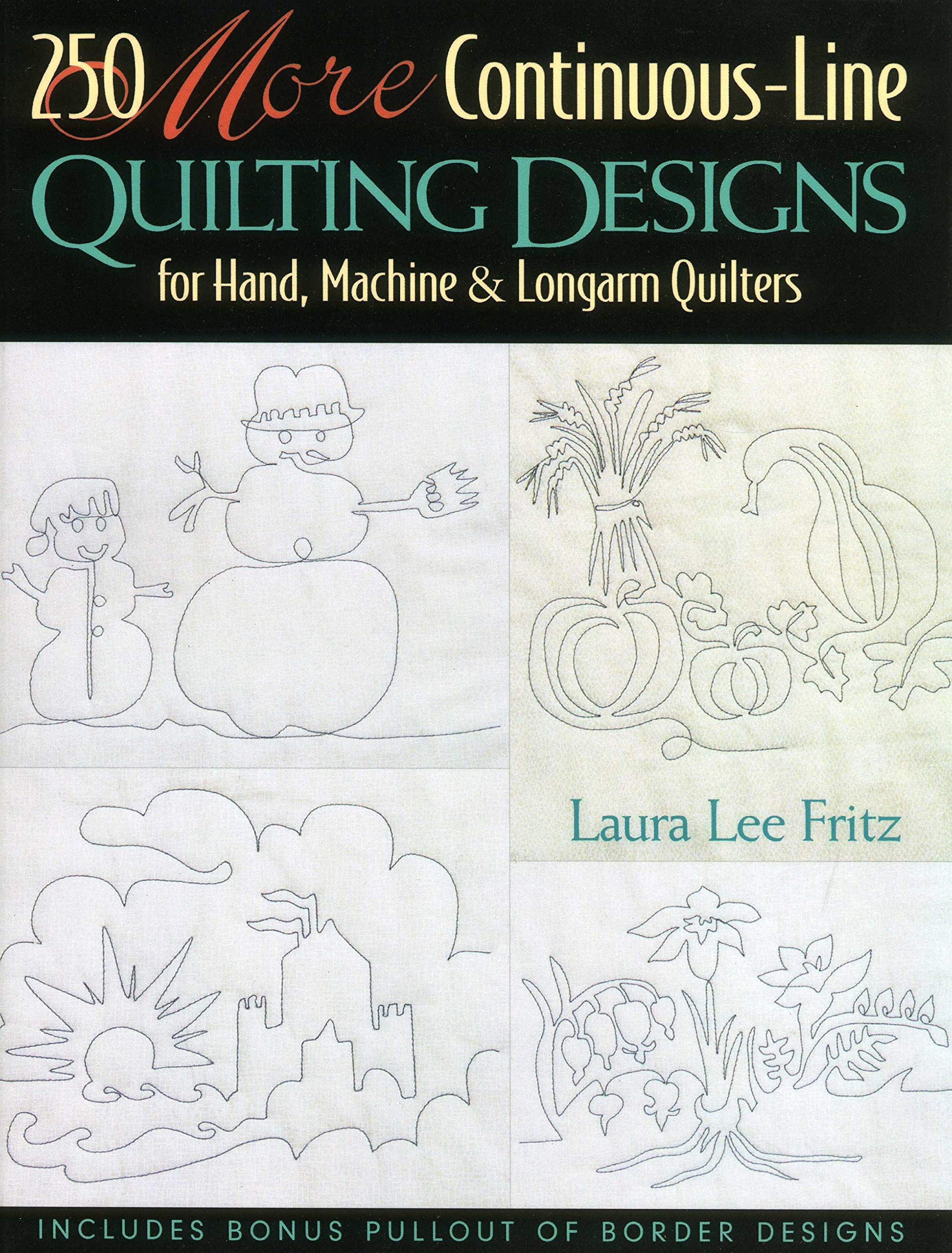 Continuous Line Quilting Patterns Free Downloads Magnificent Decorating
