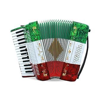 Rossetti Piano acordeón 32 Bass 30 teclas de Piano 3 ...