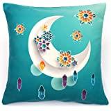 Alwan 45 x 45 cm Ramadan Kareem Cushion Cover - EE8280RTRWTF