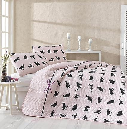 Juego de ropa de cama para gatos, tamaño individual o doble ...