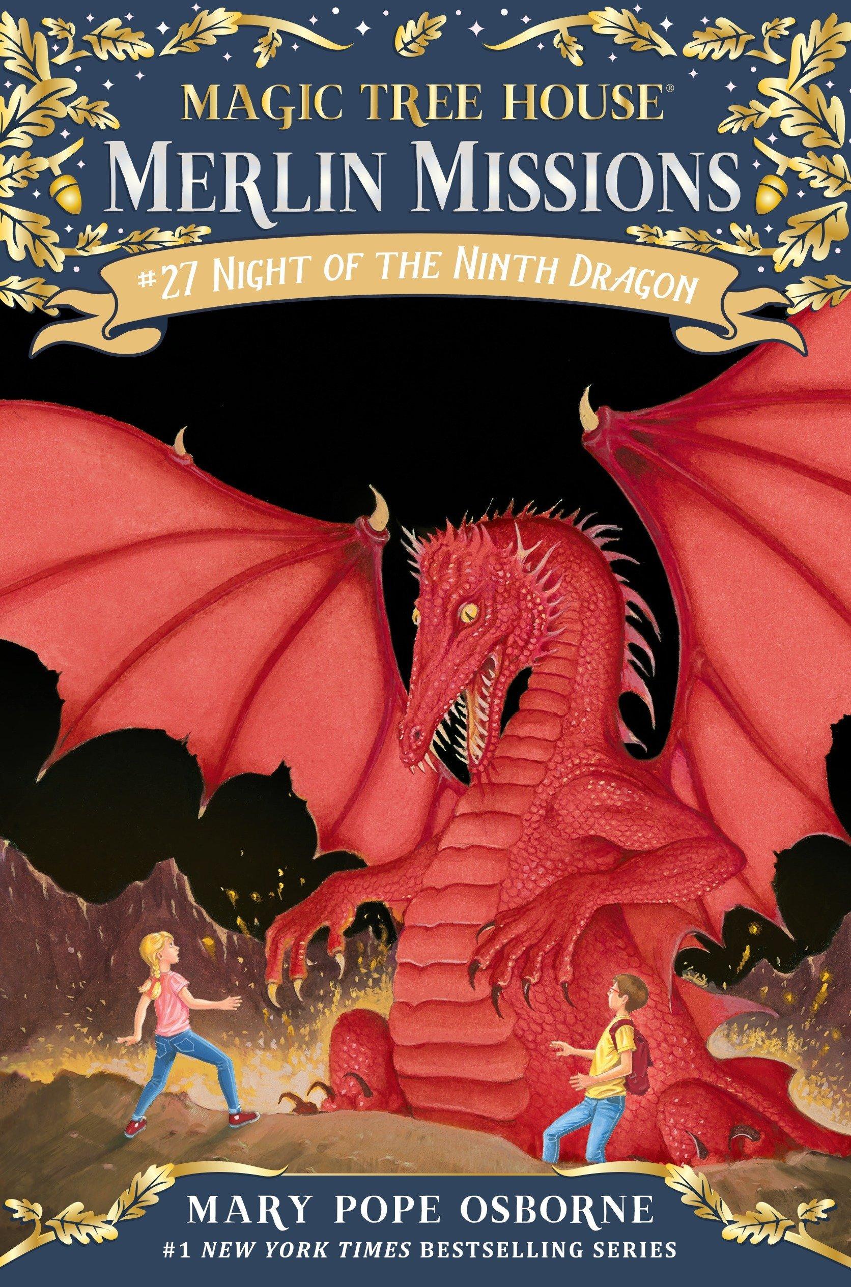 Download Night of the Ninth Dragon (Magic Tree House (R) Merlin Mission) PDF