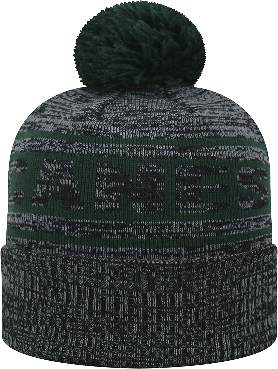 Top of the World Miami Hurricanes Official NCAA Cuffed Knit Sockit to Me Stocking Stretch Sock Hat Cap 468778
