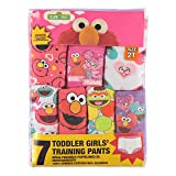 Sesame Street Girls' Toddler 7-Pack, Sesame, 4T