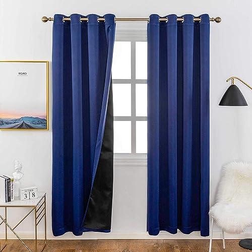 Home Brilliant 100 Blackout Curtain Panels