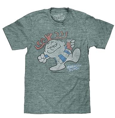 aeb77127f Tee Luv Big and Tall Hawaiian Punch T-Shirt - Novelty Punchy Mascot Shirt (