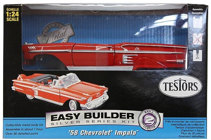 Testors Chevrolet Impala Convertible Car Model Kit (1:24 Scale)