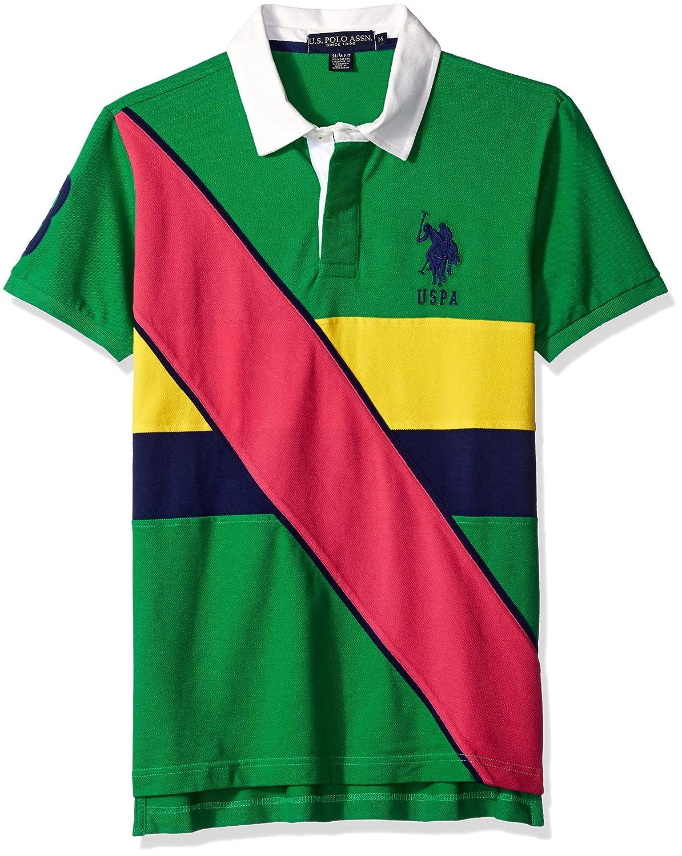U.S. Polo Assn. Hombre 11-3079-88 Camisa Polo - Verde - X-Large ...